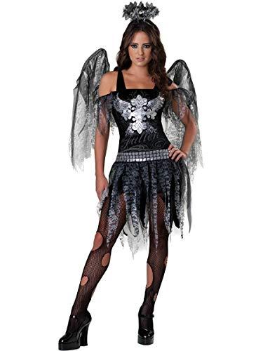 Angel Costumes For Teenagers (Dark Angel Teen/Junior Costume - Teen)