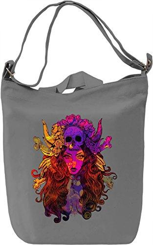 Colourful Diva Borsa Giornaliera Canvas Canvas Day Bag  100% Premium Cotton Canvas  DTG Printing 
