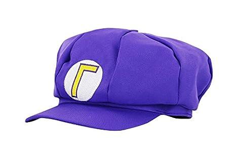 thematys® 4424457459529 Super Mario Gorro waluigi revestimiento para adultos  y niños Carnaval Disfraz gorros sombrero gorra Hombre Mujer tapa 4c7309f096d