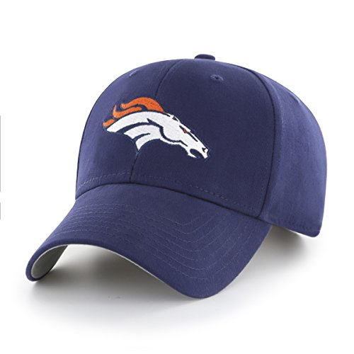 NFL Denver Broncos Children Cinch Ots All-Star MVP Adjustable Hat, Kids, Light Navy