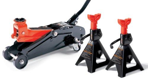 (Milestone Tools Powerzone 380034 2 Ton Jack Combo - 3 Piece)
