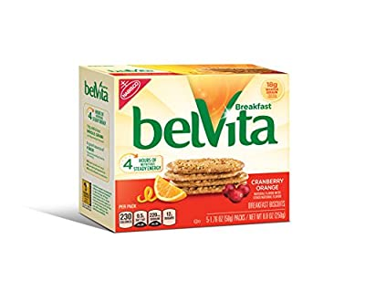 belVita Breakfast Biscuits, Cranberry Orange, 8.8 Ounce (Pack of 6) from Mondelez Warehouse