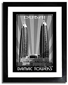 Photo of Damac Tower Black And White F07-M (A3)