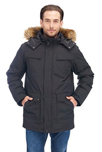 Alpine North Mens Down Parka Coat