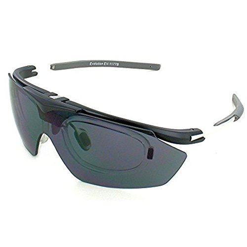 New Evolution Archery Shooting Sunglasses Hawk RX with Prescription Lenses - Sunglass Inserts Prescription