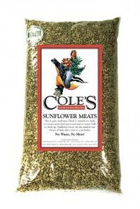 Cole's SM10 Sunflower Meats Bird Seed, 10-Pound by Cole's Wild Bird Products