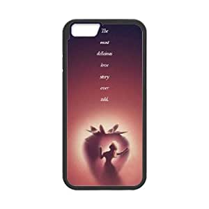 Disneys Beauty And The Beast iPhone 6 Plus 5.5 Inch Cell Phone Case Black gife pp001_9323665