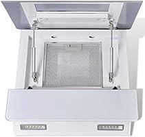 yorten Campana Extractora Potente y Silenciosa para Cocina 3 Niveles de Velocidad Cristal Templado Blanco 600 x 360 x 900 mm: Amazon.es: Hogar
