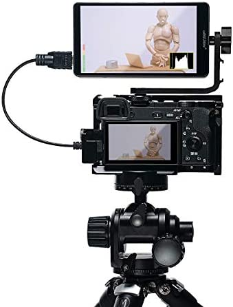 ZHIYUN Crane 2 Gimbal DJI Ronin-S Fomito Destview S5 5.5 inchs 4K HDMI Field Monitor with 360/° Swivel Arm for DSLR Camera