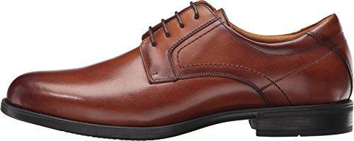 Florsheim Men's Midtown Plain Toe Oxford Cognac Smooth Shoe