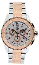GUESS Gc Sport Class Chronograph Mens Watch - Two Tone