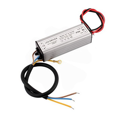 HY8-12x3W LED Light Power Supply Driver Transformer AC 85-265V to 25-40V 600mA by Unoopler