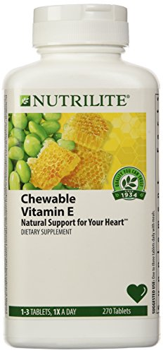 Nutrilite® Lecithin-E Chewables 270 Tablets - Lecithin Chewable Vitamins