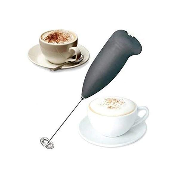 Yogi Fashion Electric Handheld Milk Wand Mixer Frother for Latte Coffee Hot Milk Hand Blender, (Random Color)
