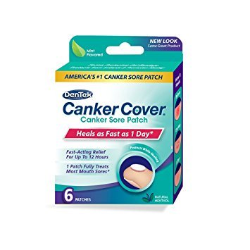 DenTek Canker Cover Patch, 6 Count - Pack of 3