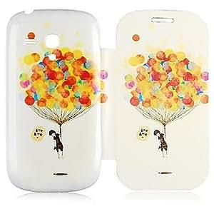 ZXC Air Balloon Pattern Full Body Case for Samsung Galaxy S3 Mini I8190