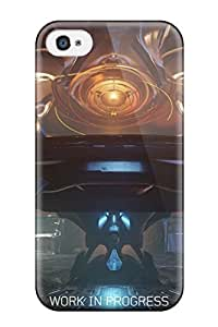 High Grade HansenLiuy Flexible Tpu Case For Iphone 4/4s - Halo 5: Guardians
