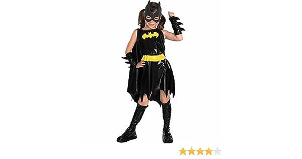 Disfraz de Batgirl niña - 3-4 años: Amazon.es: Juguetes y juegos