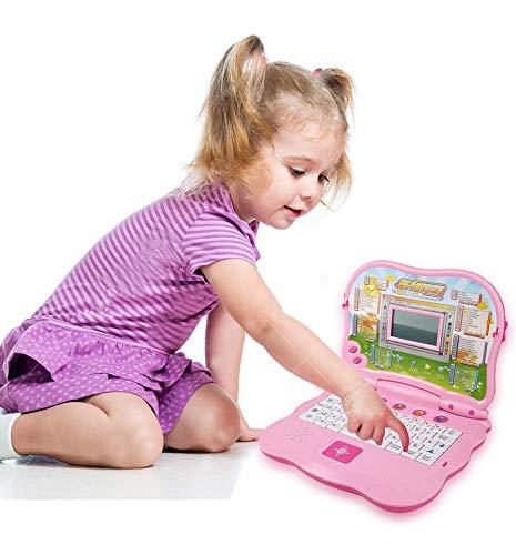 Liberty Imports Bilingual Advanced Learning Children Laptop - English and Spanish (Pink) by Liberty Imports (Image #4)