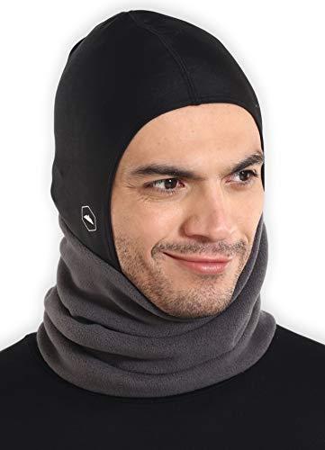 Tough Headwear Balaclava Ski Mask | Fleece Neck Warmer with Helmet Liner Hood | Fits Under Helmets & Hard -