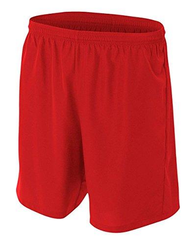 刺繍たるみ寝る新しいWoven Soccer Shorts Moisture Wicking快適Odor & Stain Resistant ( 6色、子供&大人サイズ10 )