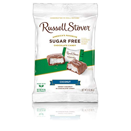 RussellStoverCandiesSugar Free Coconut, 3oz