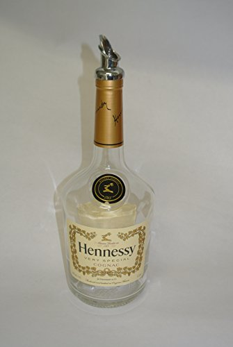 Hennessy very special Cognac 750ml dish Soap bottle - rustic Bottle Repurposed pour -