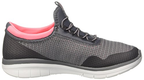 Women's 0 Sport Image Charcoal 2 Skechers Coral Fashion Synergy Mirror dISpwIq5