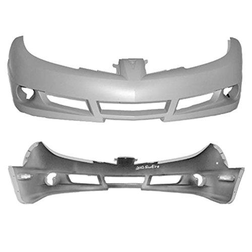 (Crash Parts Plus Front Bumper Cover for 2004-2005 Pontiac Sunfire GM1000663)