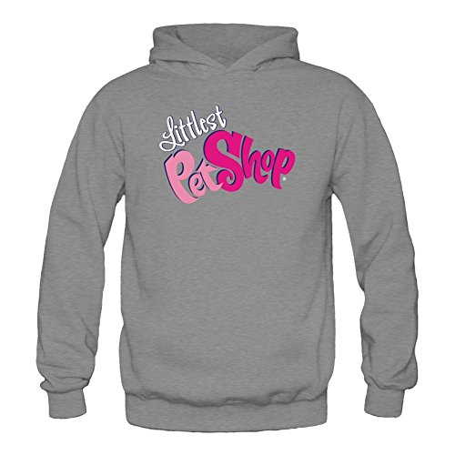 Tommery Women's Littlest Pet Shop Logo Long Sleeve Sweatshirts Hoodie