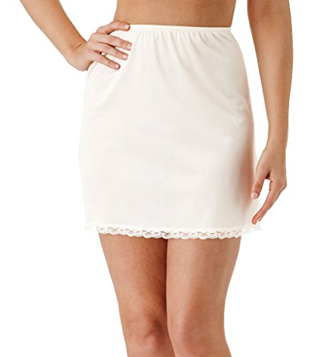 Shadowline Nylon Essentials 15 Inch Half Slip (2715) - Mini Slip Half