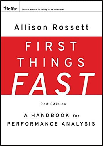 First things fast a handbook for performance analysis allison first things fast a handbook for performance analysis 2nd edition fandeluxe Gallery