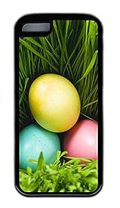 iPhone 5C Case Three Eggs And Grass TPU iPhone 5C Case Cover Black