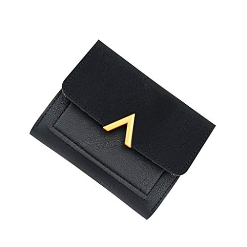 - Bsjmlxg 2019 New Mini Womens Wallets Short Style Simple Fashionable Vintage Casual Female Coin Purse Credit Card Holder