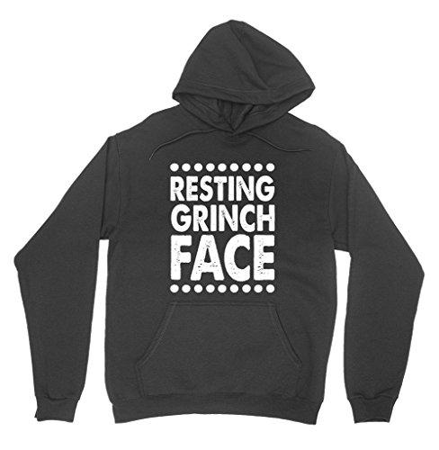 Resting Grinch Face Hoodie Sweatshirt