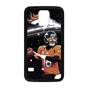 Personality Denver Broncos Peyton Manning SamSung Galaxy S5 Back Cover Protective Cases (Laser Technology)