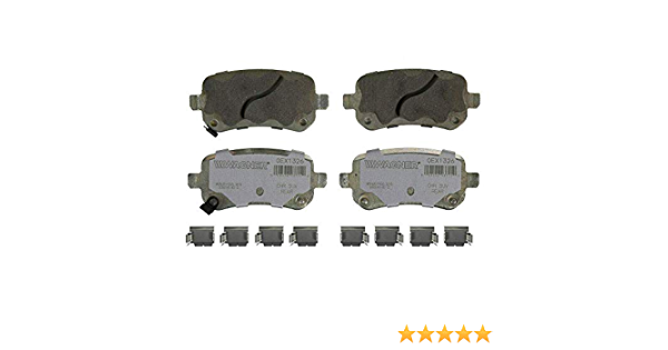 Disc Brake Pad Set-OEX Disc Brake Pad Front WAGNER OEX1363