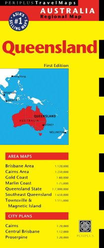 Queensland Travel Map First Edition (Australia Regional Maps)