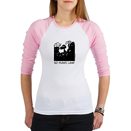 CafePress - No-Man's Land - Jr. Raglan T-shirt, Slim Fit Junior Tee