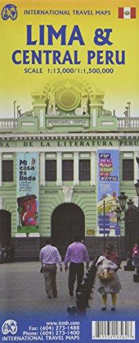 Lima & Central Peru 1:13,000 / 1:1,500,000 Travel Map (International Travel Maps)