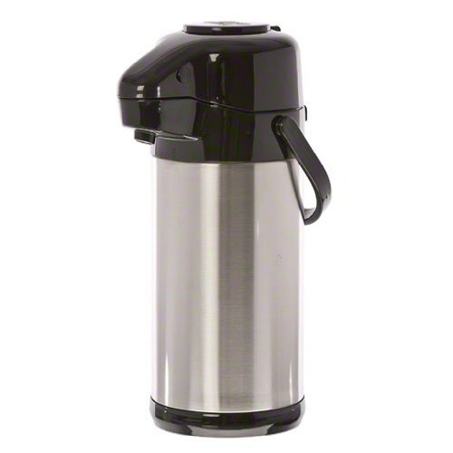 Update International (NVSP-30BK) 3 L Sup-R-Air Air Pot w/Black Push-Button (Coffee Thermos Pump)