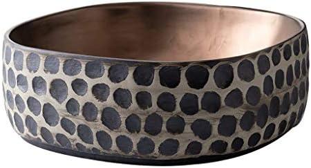 BoPin バスルームの洗面台、セラミック上記カウンタ(タップなし)流域ホーム浴室シンク洗面化粧台技術流域単一流域、39X39X13cm ベッセルシンクシンク (Size : 39X39X13cm)