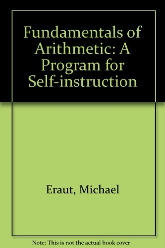Fundamentals of Arithmetic: A Program for Self-Instruction