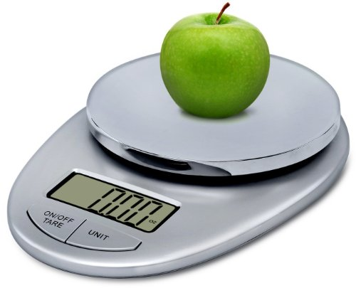epica-tm-accupro-digital-kitchen-scale-11-lbs-capacitystylish-silver-chrome-electronic-food-scale