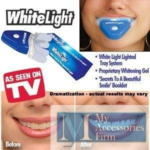 Portal Cool Oral hygiene TV Product Teeth whitening Kit white teeth Whitelight White Light Whitener System As Seen OnTV ()