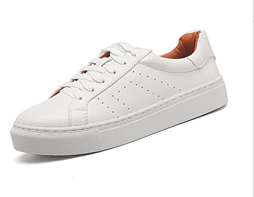 los zapatos del elevador Ms Spring zapatos casuales zapatos de encaje zapatos planos redondos , US5.5 / EU35 / UK3.5 / CN35