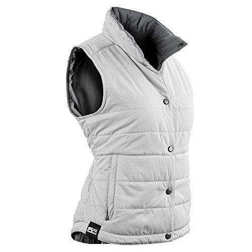 Sun Mountain Alpine Golf Vest 2016 Ladies White/Grey X-Large by Sun Mountain