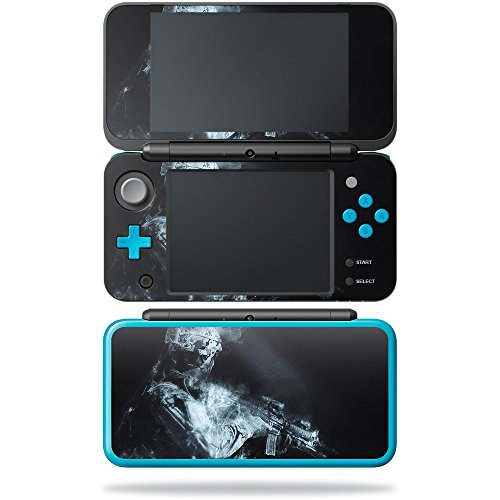 Price comparison product image Skin for New Nintendo 2DS XL - Ghost Of A Soldier| MightySkins Protective, Durable, and Unique Vinyl Decal wrap cover | Easy To Apply, Remove, and Change Styles | Made in the USA