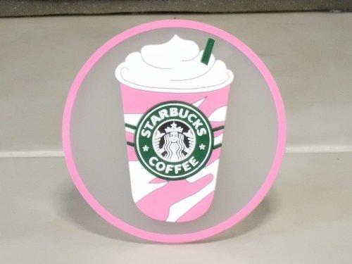 European limited Starbucks Starbucks coaster 1992 logo Siren Frappuccino pink by Starbucks