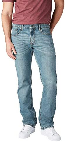 Signature by means of Levi Strauss & Co. Gold Label Men's Relaxed Fit Jeans